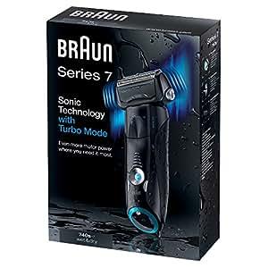 Braun Series 7 740s-7 elektrischer Rasierer, grau/schwarz