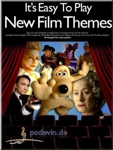 It's Easy To Play New Film Themes - Klaviernoten [Musiknoten]