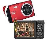 """Fotocamera digitale 80X2 / Zoom digitale 8x / 12 MP / 720P HD/Schermo LCD TFT da 2,8"""" / Regalo di Natale Macchina fotografica semplice per bambini/adolescenti/principianti/Anziani"""