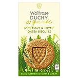Duchy FROM Waitrose DUCATO organischen Rosmarin Thymian Hafer-Kekse 150G (Packung von 2)