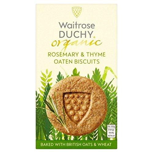 Duché Organique Romarin Thym Biscuits D'Avoine 150G - Paquet de 6