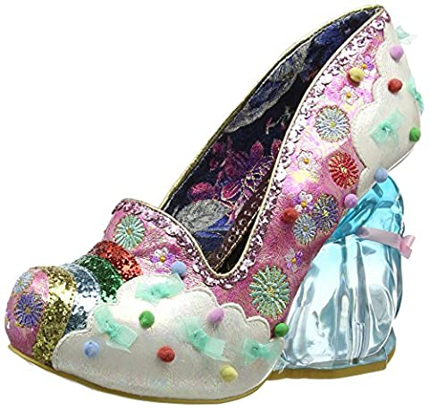 Irregular Choice - Irregular Choice Rainbunny, Escarpins femme - rose