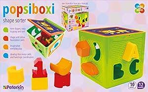 Peterkin 70184 popsiboxi - Clasificador de Formas, Multicolor