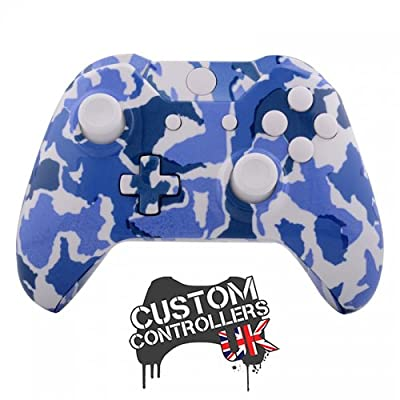 Xbox One Custom Controller - Blue Camouflage