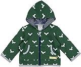 loud + proud Unisex Baby Jacke Woll-Anteil, Druck, Grün (Pine Pin), 80 (Herstellergröße: 74/80)