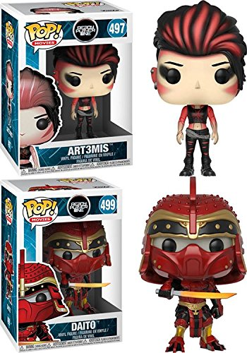 Funko POP Ready Player One Art3mis Daito Stylized Vinyl Figure Bundle Set NEW