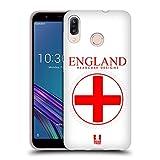 Head Case Designs Grossbritannische Fahne Fahnen Flicken Soft Gel Hülle für ASUS Zenfone Max (M1) ZB555KL