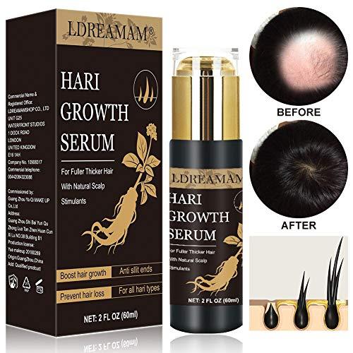 Haar Serum,Haarwachstums Serum,Anti-Haarausfall Öl,Anti Haarausfall Serum,Haarausfall und Haar-Behandlung,Neues Haarwachstum stimuliert,regeneriert und stärkt das Haar, schneller wachsenden Haar