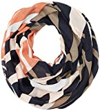 PIECES Damen Umschlagtuch Pclali Tube Scarf PB, Mehrfarbig (Cameo Rose Cameo Rose), One size