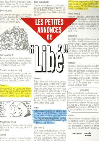 Les Petites Annonces de Libé : 1973-1981 par Aurélie Walk