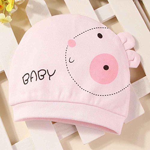 Vkospy Baby Neugeborenes Kleinkind Tier Cartoon-Hut Infant Mädchen-Jungen-Winter-Warmer Crochet Wollmütze Beanie Cap -
