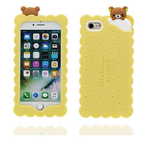 """Hülle für iPhone 7 (4.7""""), [ TPU materielles flexibles stilvolles die flasche Cans ] elegant Handyhülle für iPhone 7 (4.7""""), Staub-Beleg-Kratzer beständig, haltbare weiche soft case Farbe 3"""