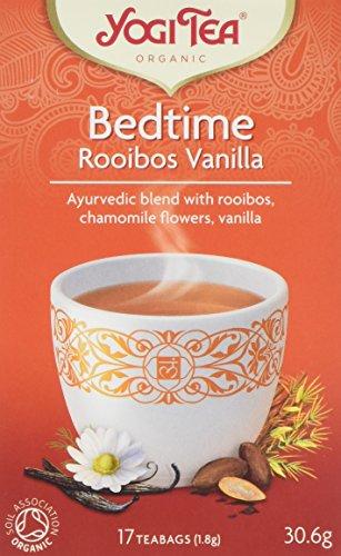 Yogi Tea  Bedtime Rooibos 17 teabags  (Pack of 6, total 102 teabags)