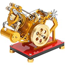 B Blesiya Motor Stirling Térmica Conversión de Energía Juguete de Experimento Científico ...