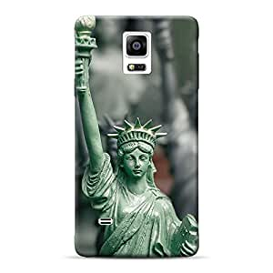 Inkif Printed Designer Case Mobile Back Cover For Samsung Galaxy Note 4
