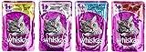 Whiskas 1+ Katzenfutter Fisch- und Fleischauswahl