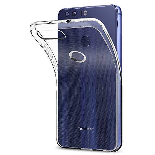 Cover Huawei Honor 8, Spigen [Clear Ultra Sottile Silicone Gel] Liquid Crystal **Estremamente Sottile & Puro Trasparente** Premium TPU silicone case - Custodia Huawei Honor 8, Cover Honor 8, Custodia Honor 8, Huawei Honor 8 Cover - (L09CS20883)
