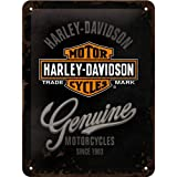 Nostalgic Art Harley Davidson Genuine small metal sign 200mm x 150mm