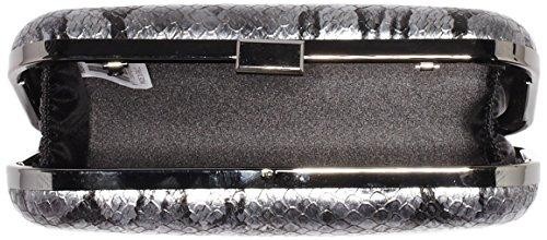 Bulaggi Damen Margrietha Box Clutches, 20x12x4 cm Silber (Silver 71)