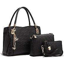 Umily Le donne annata della borsa del cuoio del sacchetto