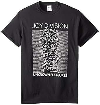 Impact Men's Joy Division Unknown Pleasures T-Shirt, Black, Small