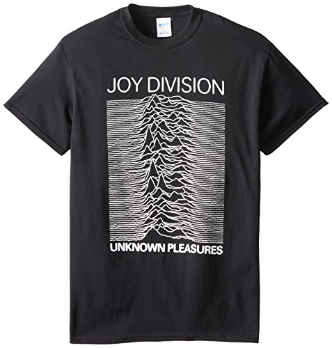 JOYDIVISION Joy Division - Camiseta - Unisex - Joy Division Unknown Pleasures Adulto (Camiseta), Size: Small