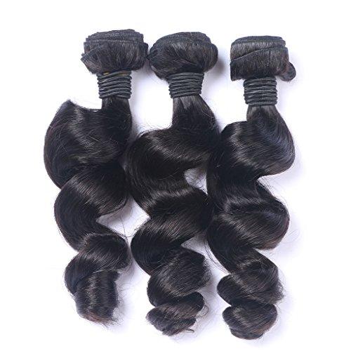 Noir naturel perte Wave 100 GG/Bundle 3bundle/de longueur 20,3 cm à 61 cm tissage 100% cheveux humains Extensions capillaires