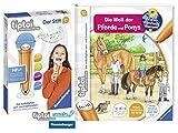 tiptoi Ravensburger Buch Band 13   Die Welt der Pferde und Ponys + Ravensburger 007004 Stift Player