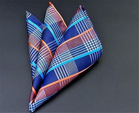Mens Fashion Business Einstecktuch Jacquard Handkerchief , f16