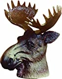 Elch / Moose Kopf als Abdeckung für Anhängerkupplung oder als Flaschendeko