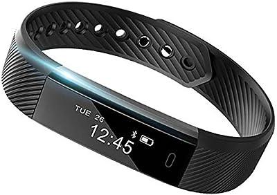 Banda inteligente: Corazón Monitor de actividad Fitness Tracker reloj contador de paso caminar sueño inalámbrico pulsera podómetro ejercicio seguimiento a prueba de sudor Deportes pulsera todos los iphone todos los teléfonos Android Smart