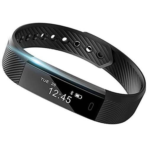 SmartBand: Heart Rate Monitor Fitness Activity Tracker Watch Step Walking Sleep Counter Wireless Wristband Pedometer…