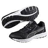 Puma Herren Essential Runner Outdoor Fitnessschuhe, Schwarz (Black-Silver), 42 EU