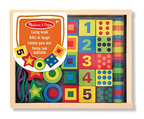 melissa-doug-deluxe-wooden-lacing-beads-educational-activity-with-27-beads-and-2-laces
