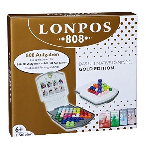 Lonpos-56115-Abstrakt-808-Spiel LONPOS 56115 – Denkspiel 808 -