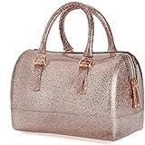 Brillantes lentejuelas bolso/ bolsa de gelatina de moda de la mujer