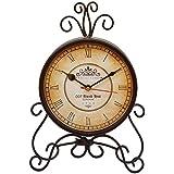007 Bond Hut 6 Inch Dial Antique Design Table Clock/ Shelf Clock/ Desk Clock