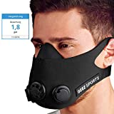 Geez Trainingsmaske Training Mask Atemmaske Trainings Maske Sportmaske Ausdauermaske Fitnessmaske...