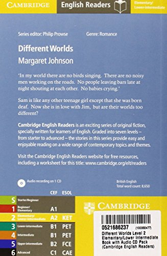 CER2: Different Worlds Level 2 Elementary/Lower Intermediate Book with Audio CD Pack (Cambridge English Readers)