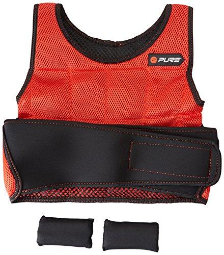Pure2Improve Gewichtsweste, Rot, One Size