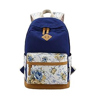Moin Imprime mochila bandolera viajes de ocio mochila escueslas para estudiantes