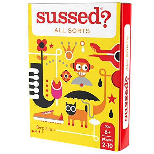 Sussed All Sorts (The Best Conversations You Have Never Had) (Family Friendly Card Game)