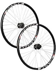 Taylor Wheels 26 pouces ensemble roues vélos Mach1 MX disc Shimano 6 trous noir