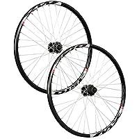Taylor Wheels 26 pollici set ruote bici Mach1 MX Disc Shimano M475 6 fori nero