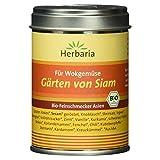 """Herbaria """"Gärten von Siam""""  Thai-Gewürz für Wokgemüse und Fisch, 1er Pack (1 x 80 g Dose) - Bio"""