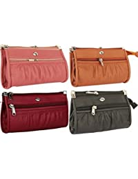 Awesome Fashions Multicolor Women's Wallet (Combo Of 4)