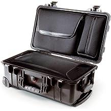 Peli 1510LOC - Maleta con ruedas y bolsillo para portátiles, color negro