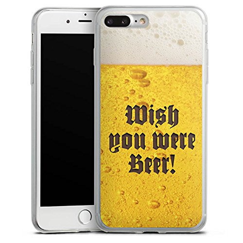 Apple iPhone X Slim Case Silikon Hülle Schutzhülle Bier Oktoberfest Statement Silikon Slim Case transparent