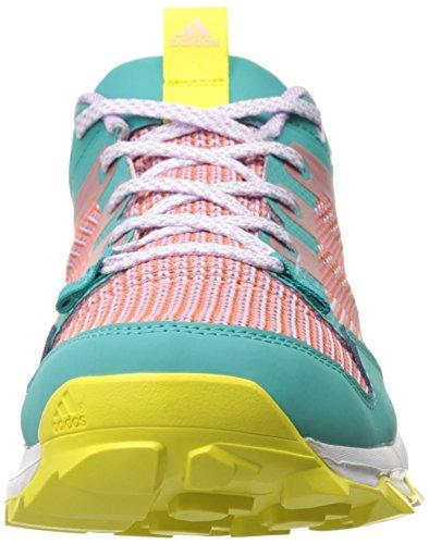 Adidas Outdoor Kanadia 7 Trail Running Shoe - Cenere viola / nero / colore rosa grassetto 5 Vivid Mint/Sun Glow Yellow/Yellow