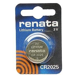 Renata CR20253V Lithium Knopfzelle Uhrenbatterie DL2025, ECR-2025, BR 2025